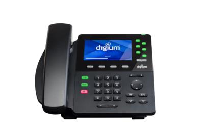 Digium D65 6-line IP Phone